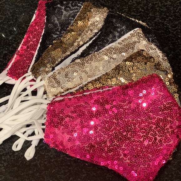 Accessories - Sparkly Face Mask